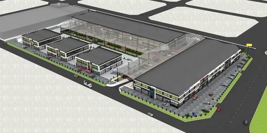 Konya Ticaret Merkezi 3D Animasyon & Render Hizmetleri