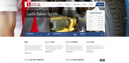 Smart Otomotiv Kurumsal Web Sitesi